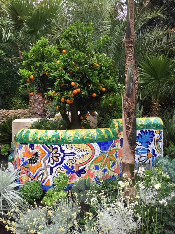 Inspired by Barcelona Mosaic Garden
